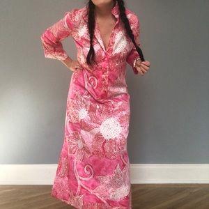 Vintage 1950s Kiyomi Hawaiian dress!